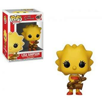 Funko Pop - Lisa Simpson  - Os Simpsons