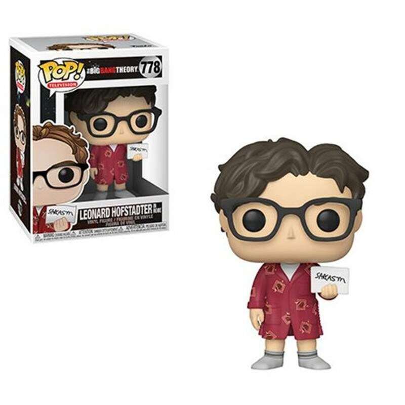 Funko Pop - Leonard Hofstadter - Série The Big Bang Theory