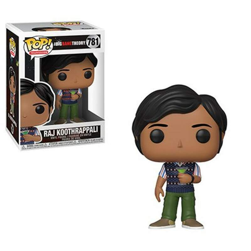 Funko Pop - Raj Koothrappali - Série The Big Bang Theory