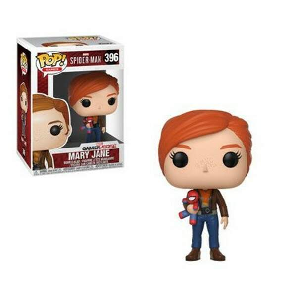 Funko Pop - Mary Jane - Game Spiderman - Versão Game 2018