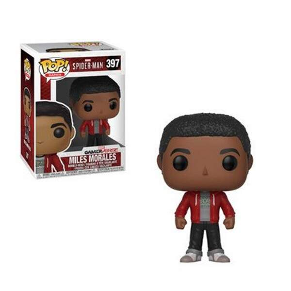 Funko Pop - Miles Morales - Game Spiderman - Versão Game 2018