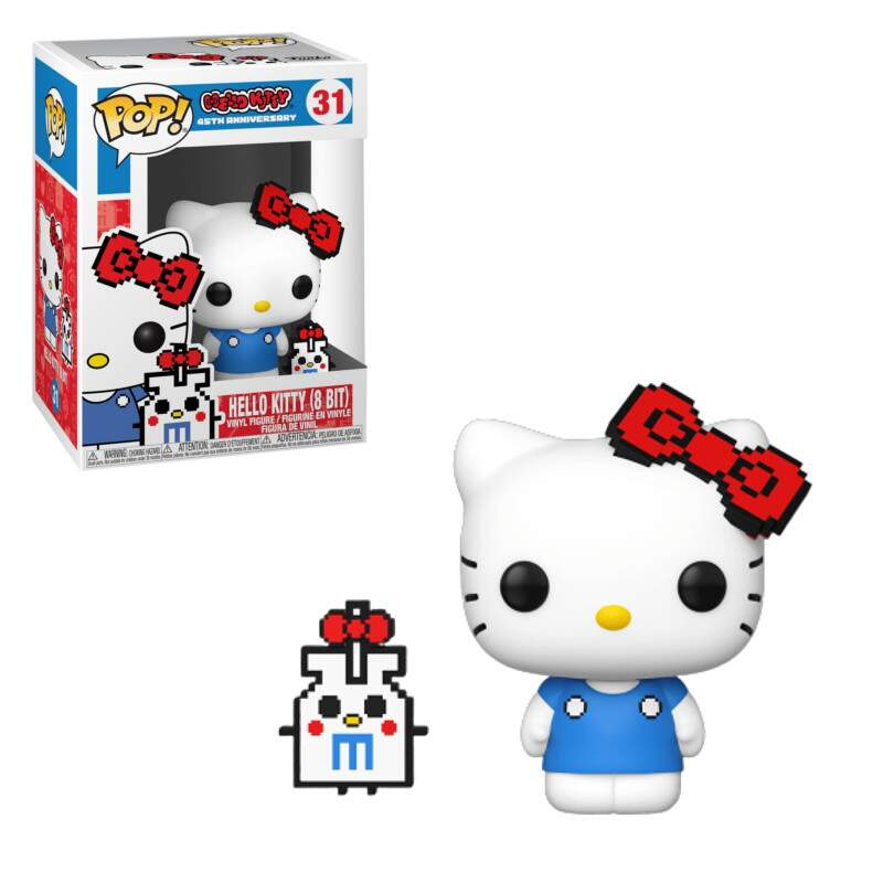 Funko Pop - Hello Kitty - versão 8 bits - número 31