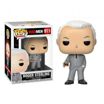 Funko Pop - Roger Sterling - Série Mad Men
