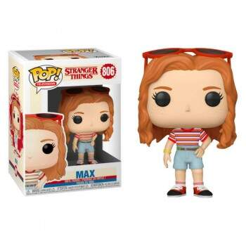 Funko Pop - Max número 806 - Série Stranger Things