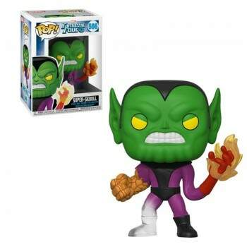 Funko Pop - Super Skrull - Quarteto Fantástico - Marvel