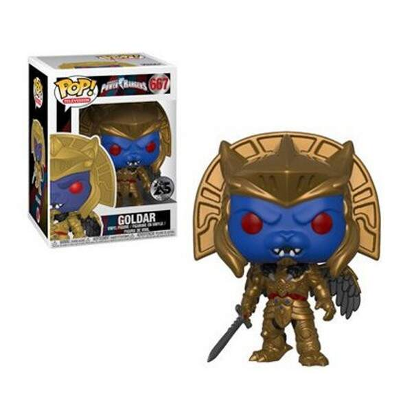 Funko Pop - Goldar - Power Rangers 25 anos