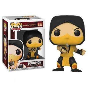 Funko Pop - Scorpion número 537 - Game Mortal Kombat
