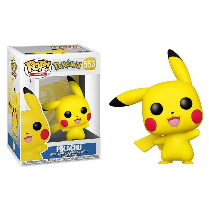 Funko Pop - Pikachu número 553 - Pokemon