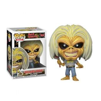 Funko Pop - Eddie - Killers - Número 144 - Banda Iron Maiden