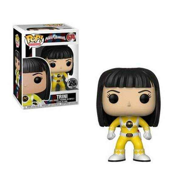 Funko Pop - Trini - Power Rangers 25 anos