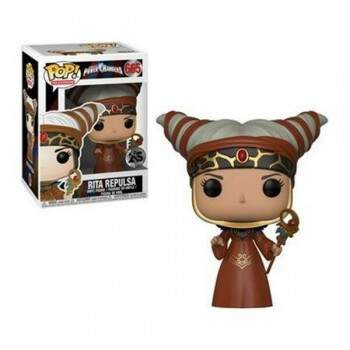 Funko Pop - Rita Repulsa - Power Rangers 25 anos