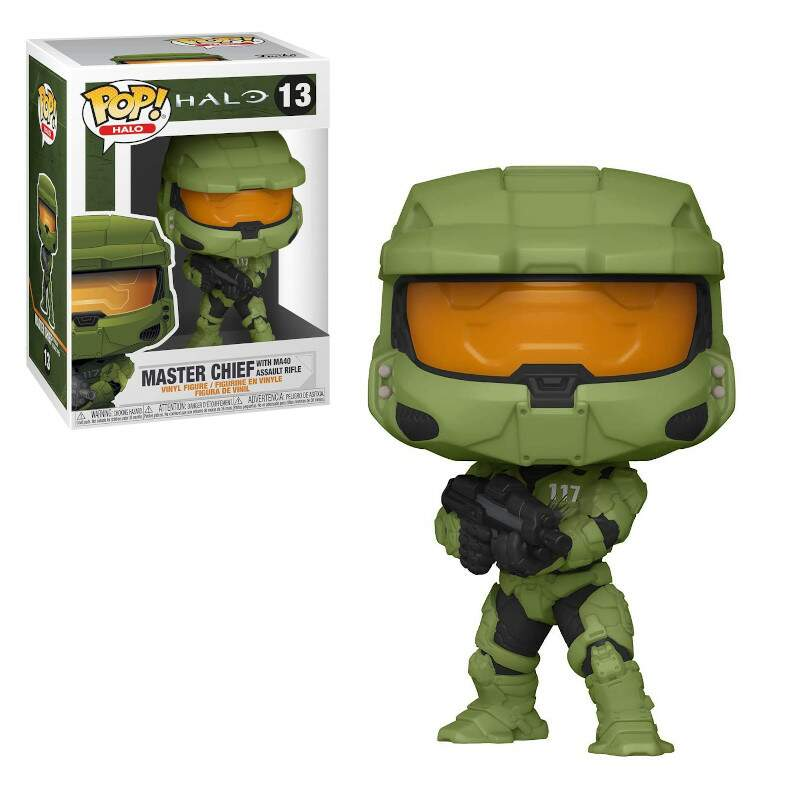 Funko Pop - Masterchief w/ assault rifle - Halo