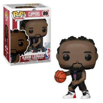 Funko Pop - Kawhi Leonard - Temporada 20/21 - NBA