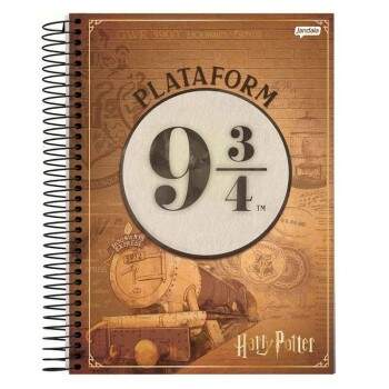 Caderno Universitário - Harry Potter - 96 fls - Pac com 4