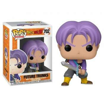 Funko Pop - Trunks do Futuro número 702 - Dragon Ball