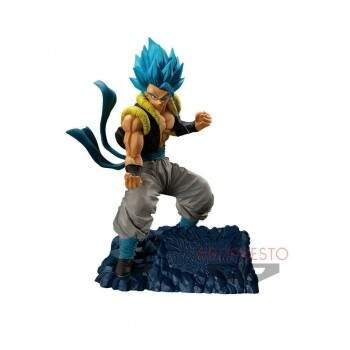 Banpresto - Dragon Ball Super - Super Saiyajin Deus Gogeta - Dokkan Battle