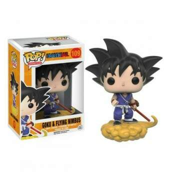 Funko Pop - Goku e Nuvem Voadora - Dragon Ball