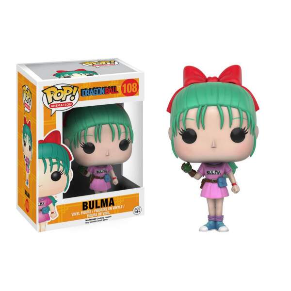 Funko Pop - Bulma número 108 - Dragon Ball