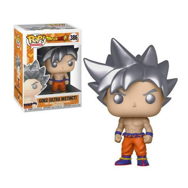 Funko Pop - Goku Ultra Instinct - Dragon Ball Super