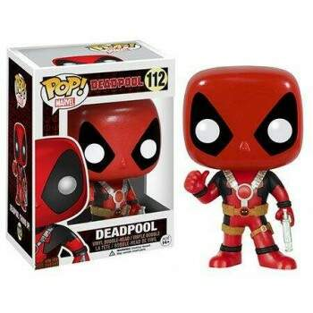 Funko Pop - Deadpool com Arma número 112 - Marvel