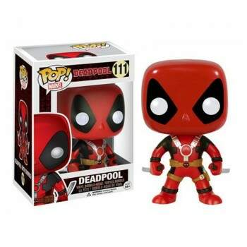 Funko Pop - Deadpool com Duas Espadas número 111 - Marvel