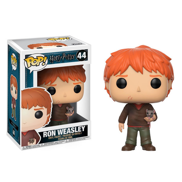 Funko Pop - Ron Weasley número 44 - Filme Harry Potter
