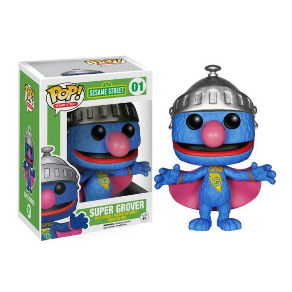 Funko Pop - Super Grover - Vila Sésamo