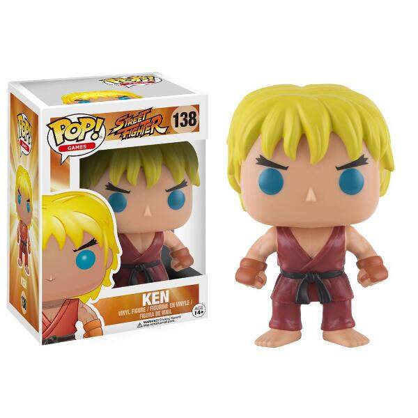 Funko Pop - Ken número 138 - Street Fighter