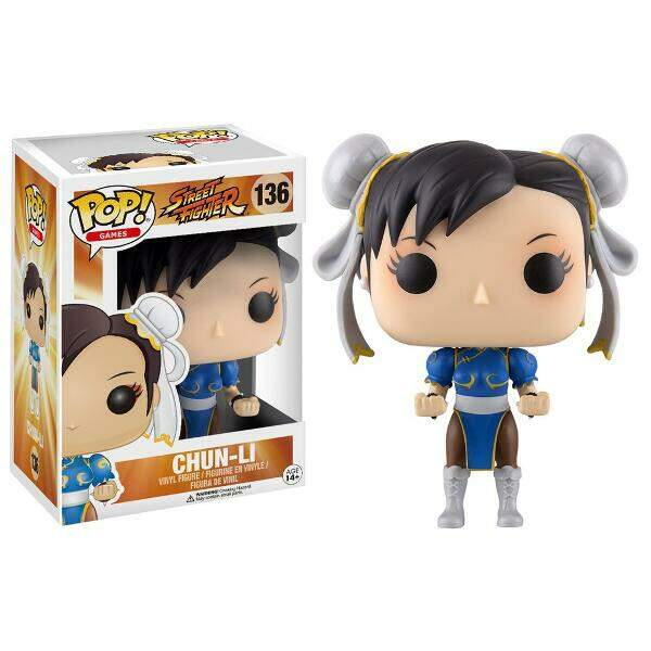 Funko Pop - Chun-li número 136 - Street Fighter
