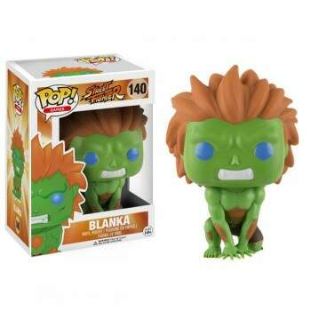 Funko Pop - Blanka número 140 - Street Fighter