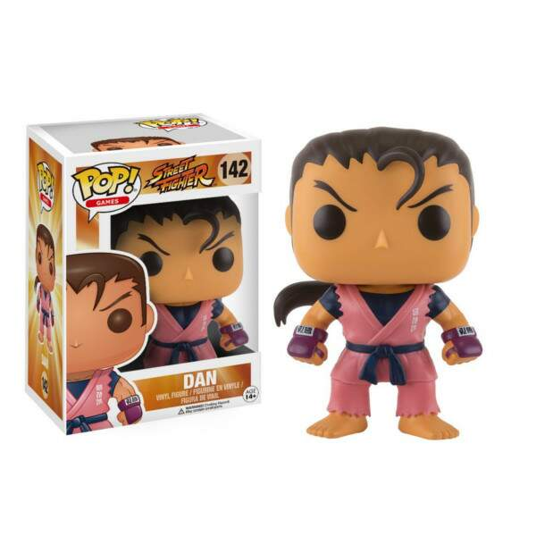 Funko Pop - Dan número 142 - Street Fighter