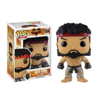 Funko Pop - Hot Ryu número 154 - Street Fighter V