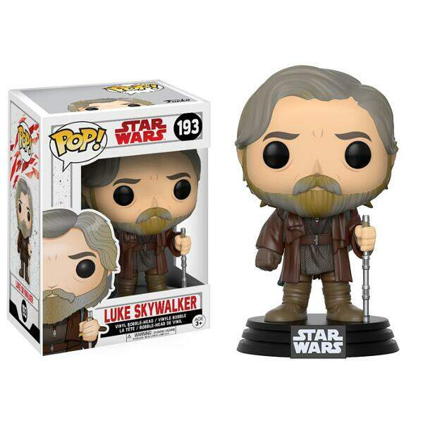 Funko Pop - Luke Skywalker - Star Wars - Últimos Jedi