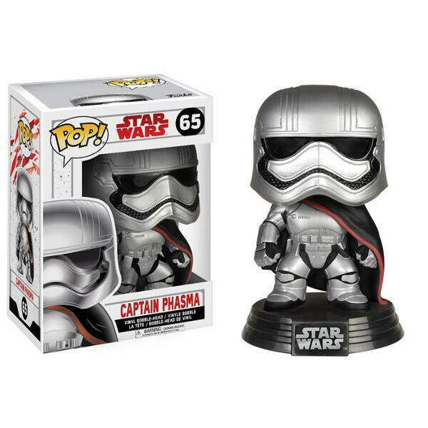 Funko Pop - Captain Phasma - Star Wars - Últimos Jedi