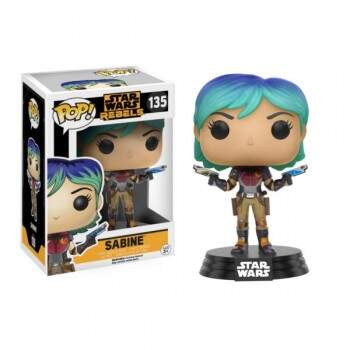 Funko Pop - Sabine - Star Wars Rebels