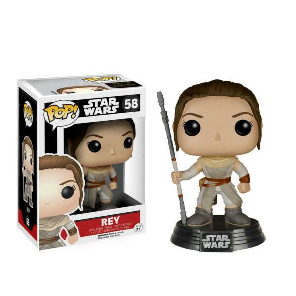 Funko Pop - Rey número 58 - Star Wars