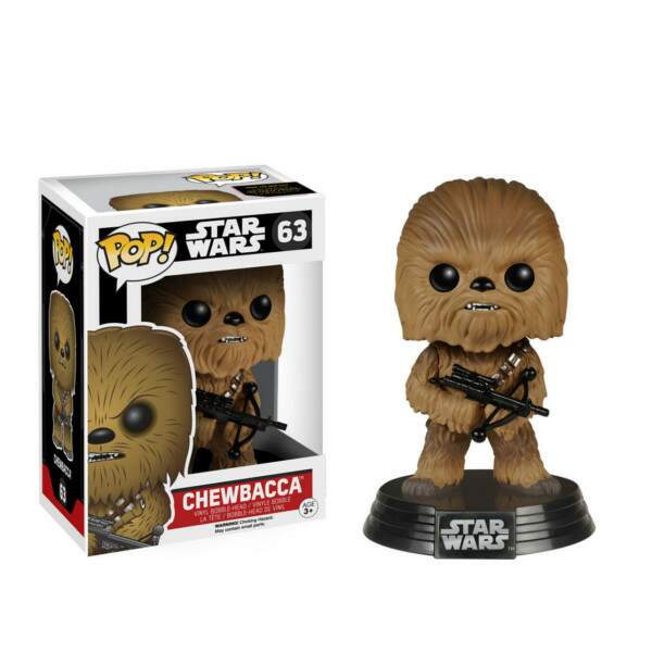Funko Pop - Chewbacca número 63 - Star Wars