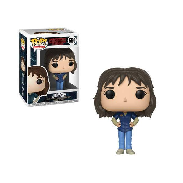 Funko Pop - Joyce número 550 - Série Stranger Things