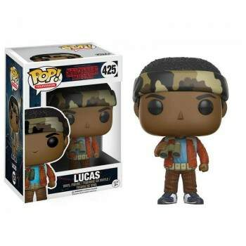 Funko Pop - Lucas número 425 - Série Stranger Things