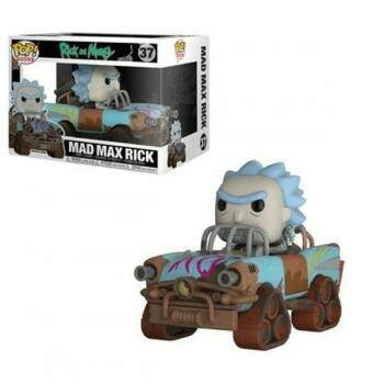 Funko Pop - Rick Mad Max - Série Rick and Morty
