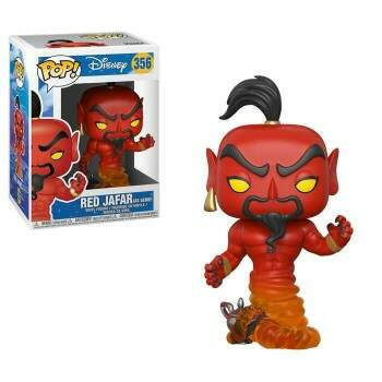 Funko Pop - Red Jafar - Animação Aladdin - Disney