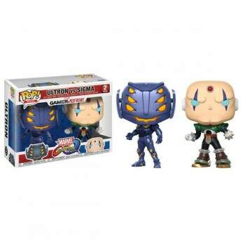Funko Pop - Pack Ultron vs Sigma - Game Marvel vs Capcom