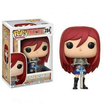 Funko Pop - Erza Scarlet - Anime Fairy Tail