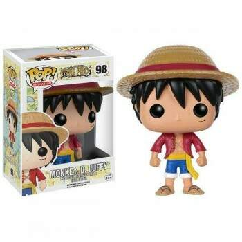 Funko Pop - Monkey D Luffy - Anime One Piece