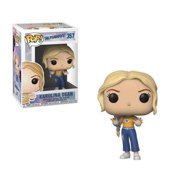 Funko Pop - Karolina Dean - Runaways - Marvel
