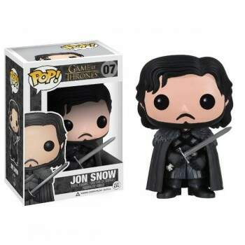 Funko Pop - Jon Snow número 07 - Game of Thrones