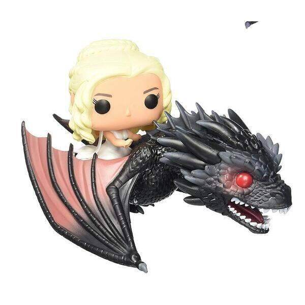Funko Pop - Daenerys Targaryen e Drogon - Game of Thrones
