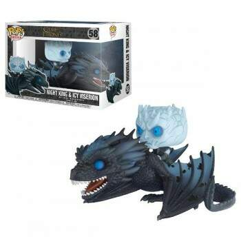 Funko Pop - Night King e Viserion - Game of Thrones