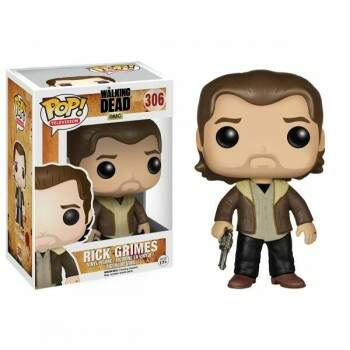 Funko Pop - Rick Grimes número 306 - Série The Walking Dead