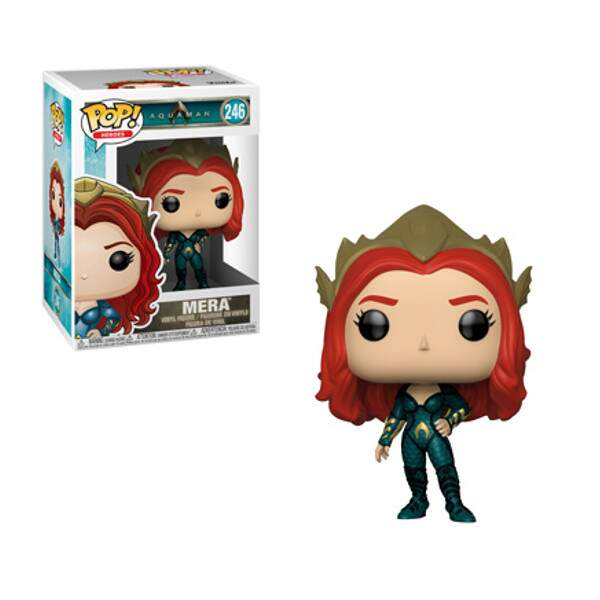 Funko Pop - Mera - Filme Aquaman - DC Comics